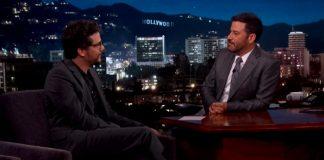 Wagner Moura no programa de Jimmy Kimmel