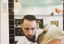 Chris Steele, do Alexisonfire, é barbeiro