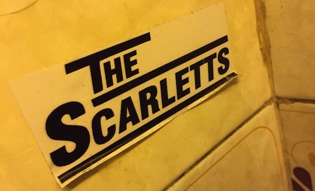 the scarlets adesivo