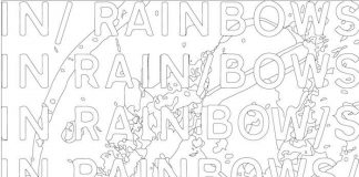 Radiohead - In Rainbows para colorir