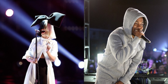 Sia e Kendrick Lamar