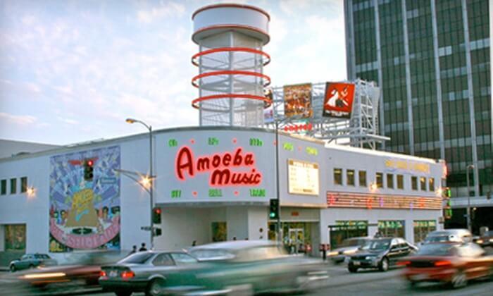 Amoeba Music em Hollywood (Los Angeles)