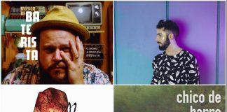 Cleber Almeida Septeto, Romero Ferro, Dharma Baby, Chico de Barro