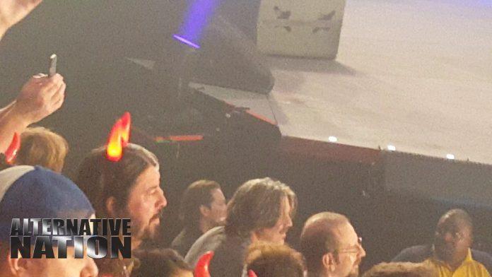 Dave Grohl em show do AC/DC