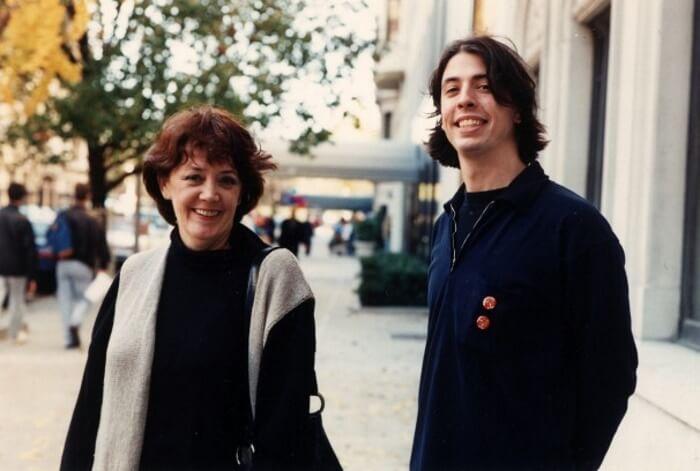 Dave Grohl e sua mãe, Virginia Grohl