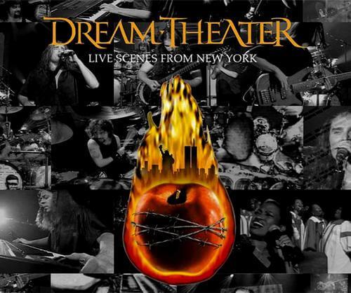 Dream Theater Live Scenes From New York (capa original)