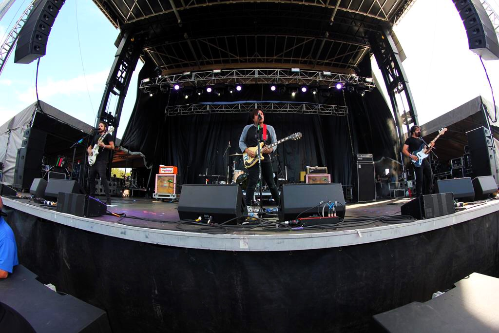 Frnkiero and the Patience no Riot Fest 2016