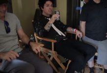 Billie Joe no making of de Bang Bang, do Green Day
