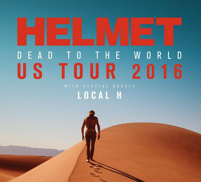 Após seis anos, Helmet anuncia novo disco