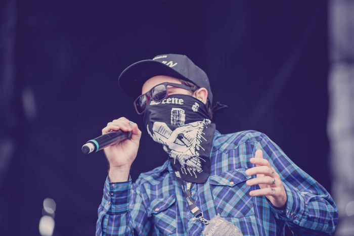 hollywood undead no maximus festival
