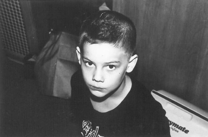 Um jovem Jack White