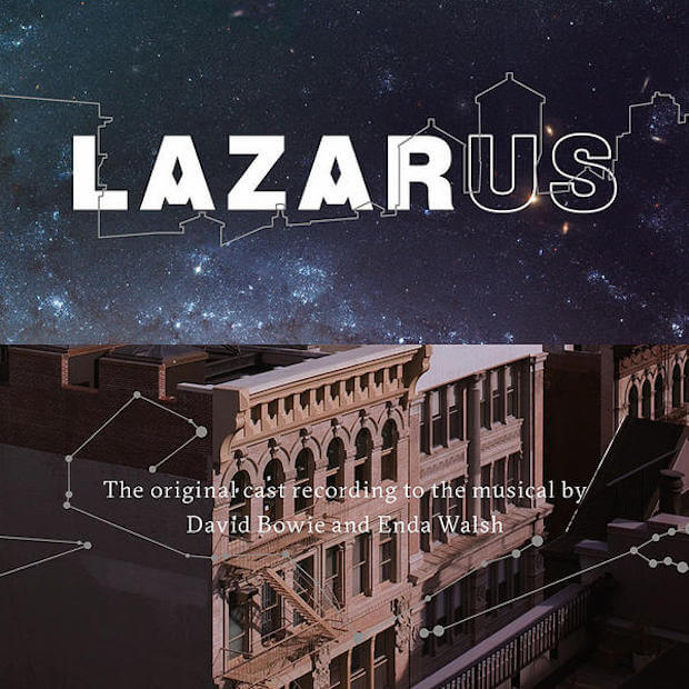 Disco com a trilha do espetáculo Lazarus