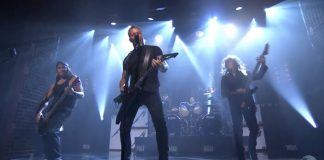 Metallica no programa de Jimmy Fallon