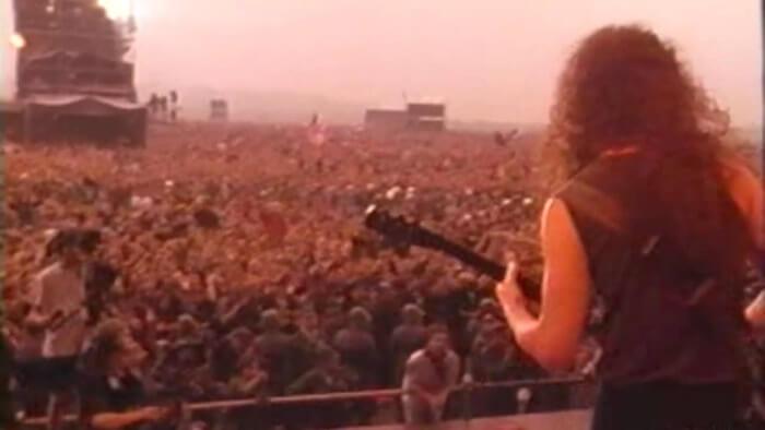 Metallica na Rússia em 1991