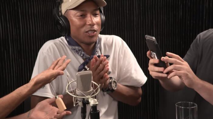 Pharrell Williams e David Blaine