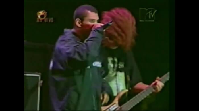Raimundos no Skol Rock 1998