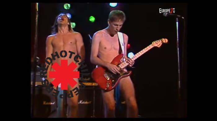 Red Hot Chili Peppers na Alemanha em 1985
