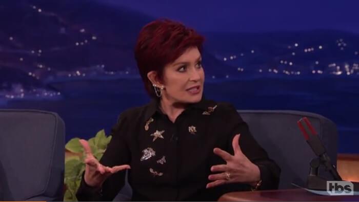 Sharon Osbourne no programa de Conan