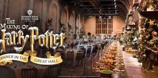 Jantar em Hogwarts, de Harry Potter