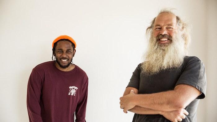 Kendrick Lamar e Rick Rubin