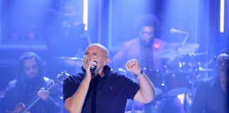 Phil Collins no programa de Jimmy Fallon