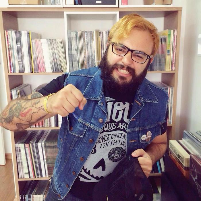 Antonio Augusto, fundador da Hearts Bleed Blue