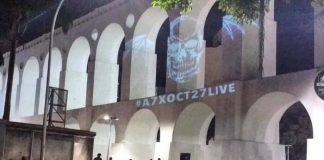 Avenged Sevenfold: deathbat nos Arcos da Lapa