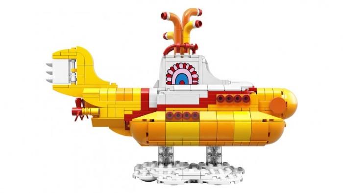 LEGO anuncia kit de Yellow Submarine, dos Beatles