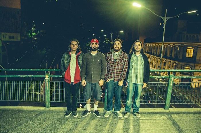Bigorna Discos é: Gustavo Magalhães , Eder Penha, Diego Esteves e Diego Xavier. Foto por: Jean Silva