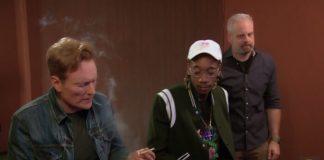 Wiz Khalifa no programa de Conan O' Brian