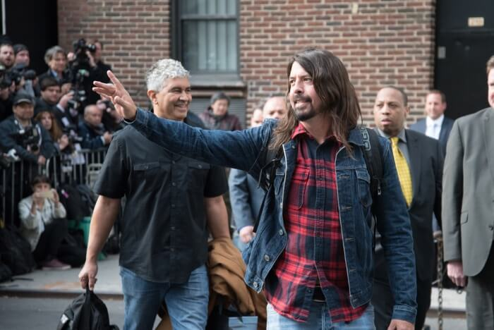 Dave Grohl e Pat Smear