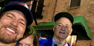 Eddie Vedder e Bill Murray