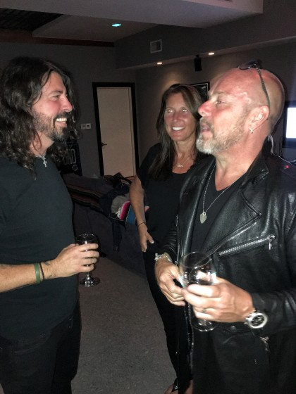 Dave Grohl e Jason Bonham