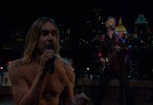 Iggy Pop e Josh Homme no Austin City Limits