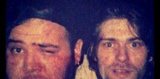 João Gordo e Kurt Cobain