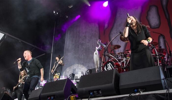 KoRn com Corey Taylor, do Slipknot