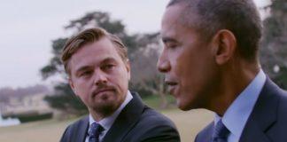 Leonardo DiCaprio e Barack Obama