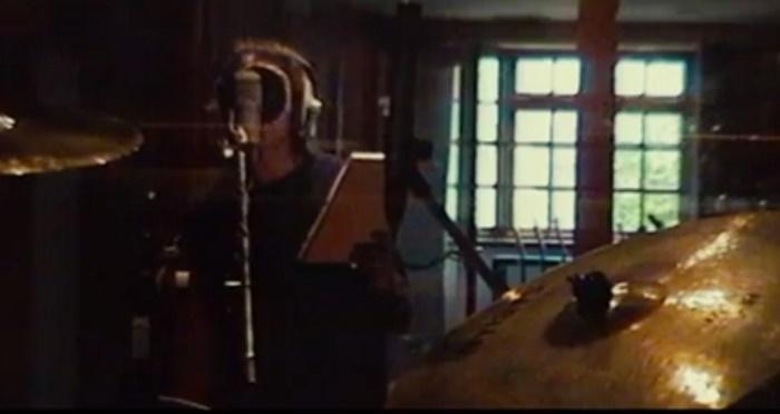 Liam Gallagher em estúdio
