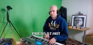 Músico cria trilha sonora de videogame em dois minutos