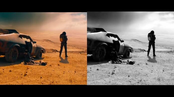 Mad Max em Preto e Branco