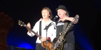 Paul McCartney e Neil Young no Desert Trip