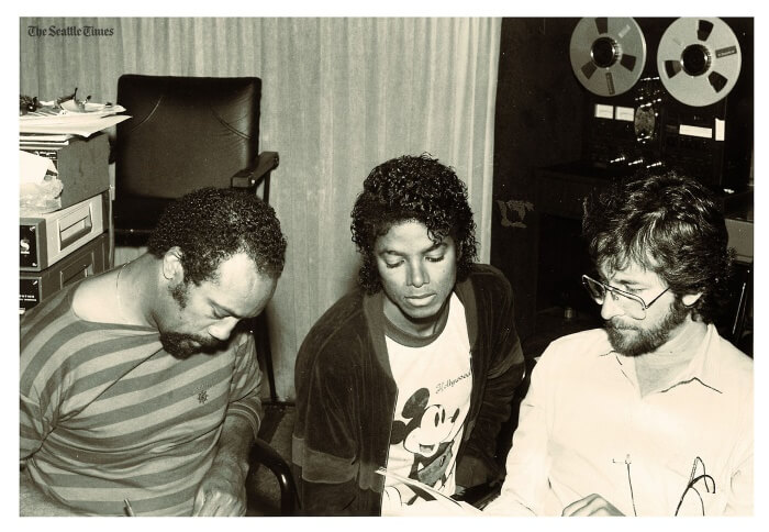 Quincy Jones, Michael Jackson e Rod Temperton