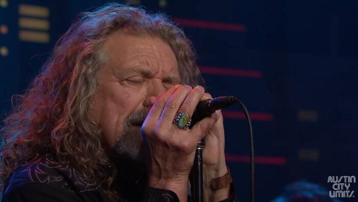 Robert Plant canta Led Zeppelin no Austin City Limits