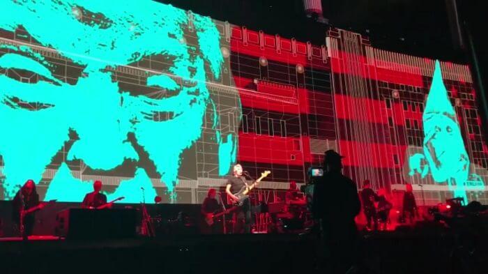 Roger Waters critica Donald Trump no Desert Trip