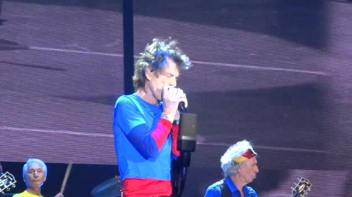 Rolling Stones no segundo final de semana do Desert Trip