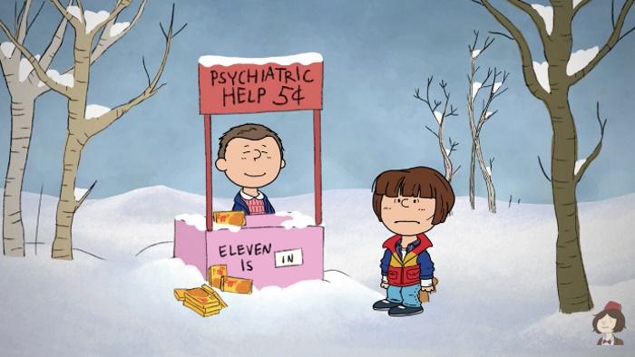 Stranger Things e Peanuts