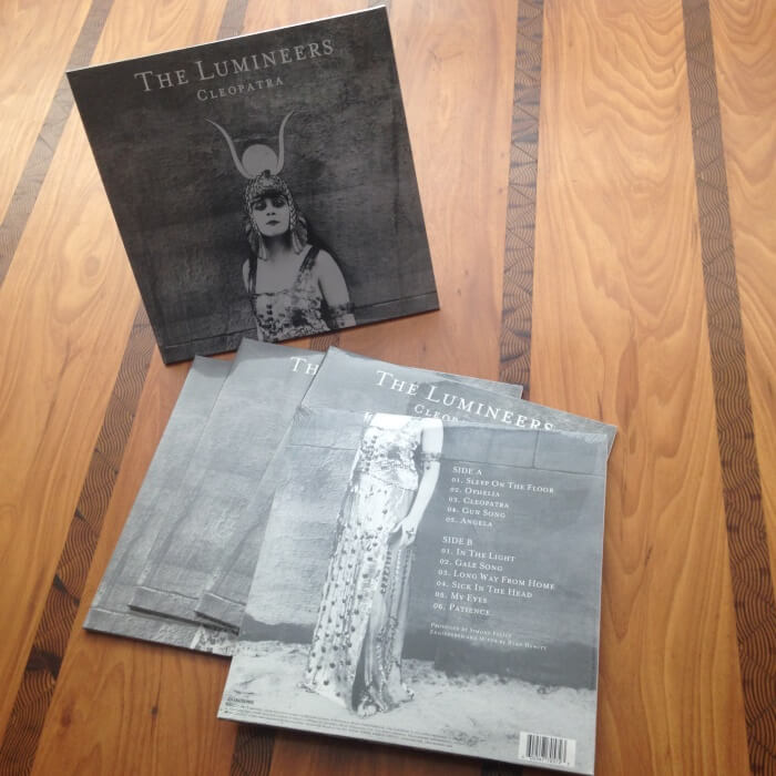 Discos de vinil do The Lumineers