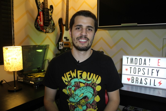 Tony Aiex no episódio 20 do TMD no Topsify Brasil