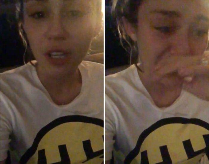 Miley Cyrus chora em vídeo comentando resultado da eleição americana