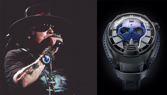 Relógio de Axl Rose